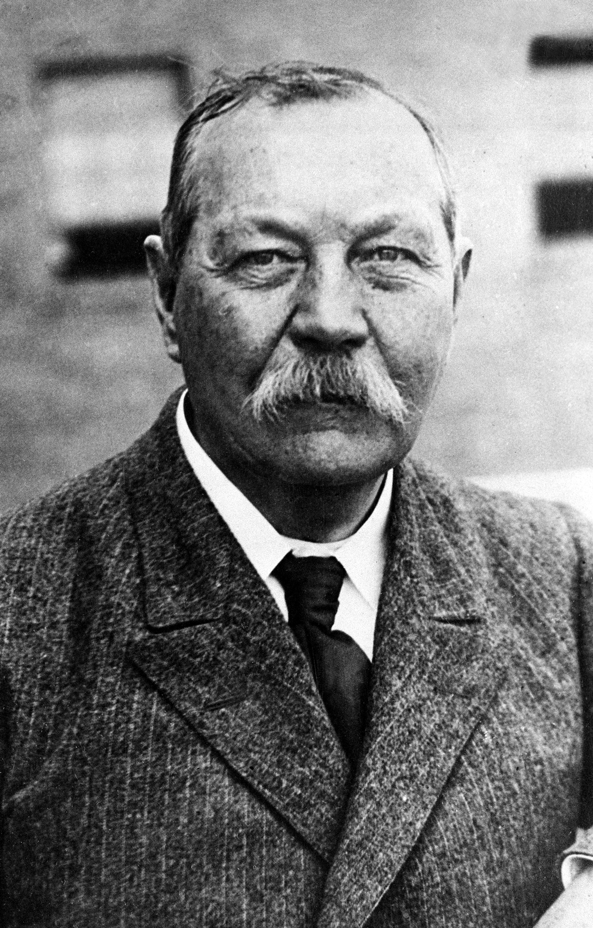 sir arthur conan doyle Sir arthur conan doyle there was something awesome in the thought of the solitary mortal standing by the open window and summoning in from the gloom outside the spirits of the nether world.