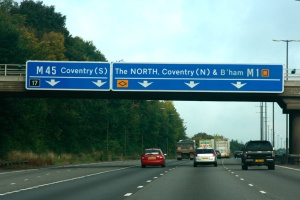 "Driving ""Up North"" in UK..."