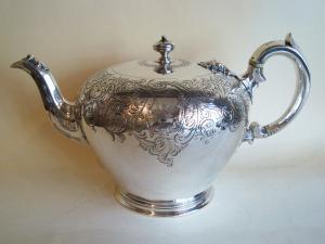 Victorian tea pot