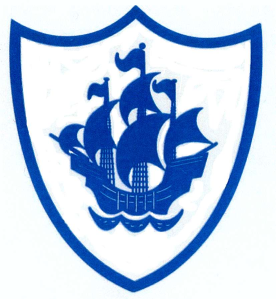 The logo of Blue Peter TV prog