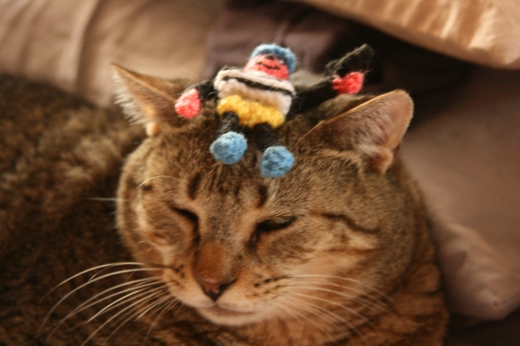 Things on Cowboy's Head no. 8 - Bertie Bassett toy.