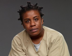 (Uzo Aduba is the actress who plays this part in the fab drama, Orange is the New Black.)