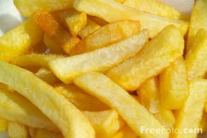 Chips - the national food.
