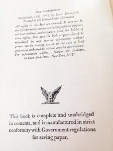 Parkington first page