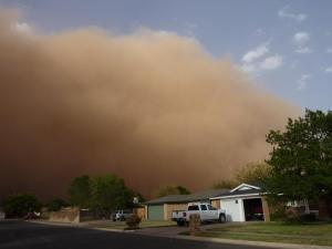 Haboob coming into town. (Photo: NWS/Lubbock.)