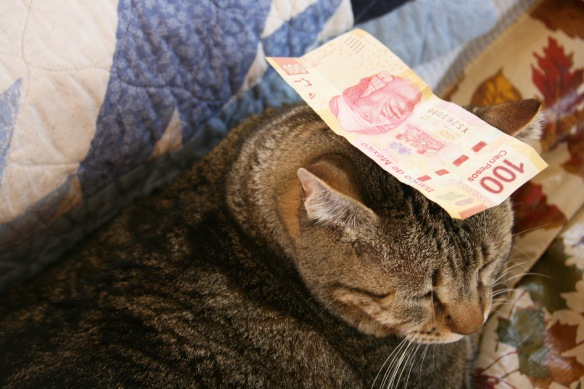 Things on Cowboy's Head. No. 42: Pesos.