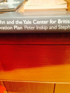 And here's my lovely Uncle Peter on the spine of a book that he co-wrote...