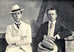 (L-R) George and Weedom Grossmith, authors.