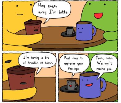 coffee-puns