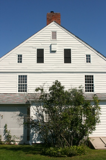 One of the buildings at the Shelburne Museum...