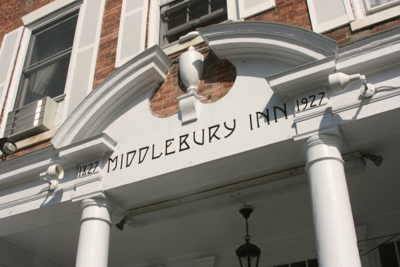 The Middlebury Inn in VT: Highly recommend this historical inn if you're in the area.