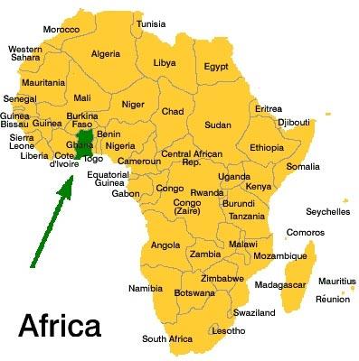 Ghana_africa-map