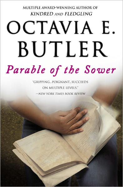 Image of book cover for Octavia Butler's Parable of the Sower.
